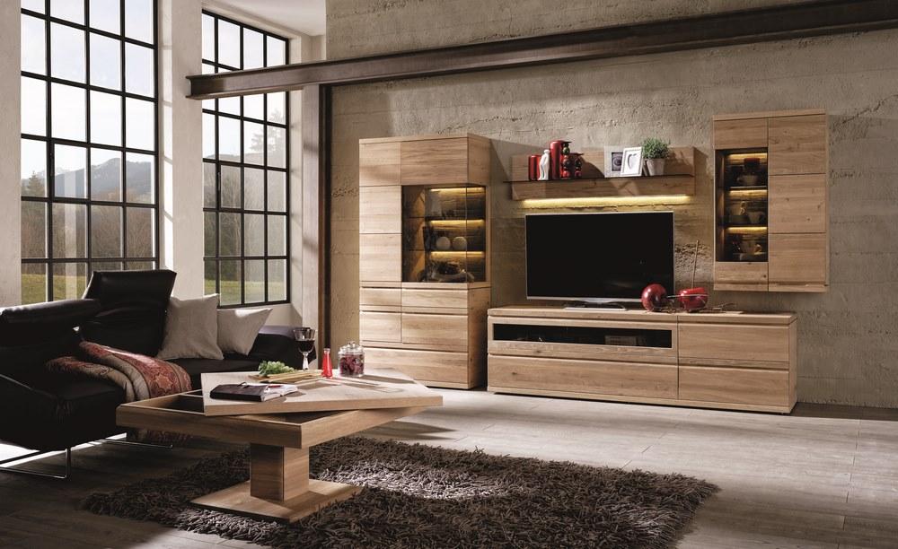 Meuble TV design  Votre meuble design TV en noyer ou en chêne -> Meuble Tv Bois Noyer