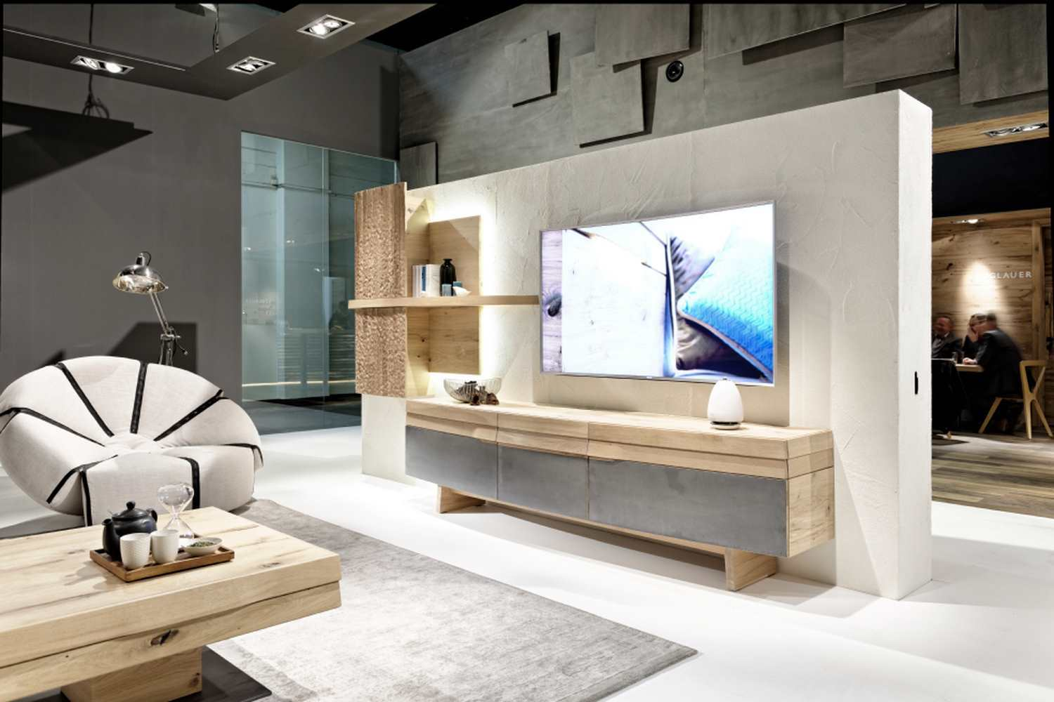 Meuble Tv Haut Avec Table De Salon - Table De Salon Design En Bois Convertible Organo Au Design Allemand[mjhdah]https://fr.imagineoutlet.com/Upload/Thumbnail/Meubles-haut-de-gamme-en-chene-design-allemand-20.jpg