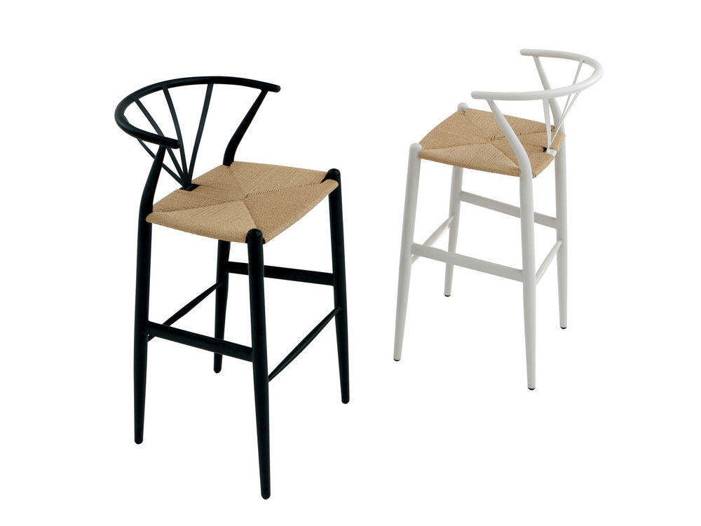 tabouret de bar hiller d design scandinave design danois design nordique. Black Bedroom Furniture Sets. Home Design Ideas